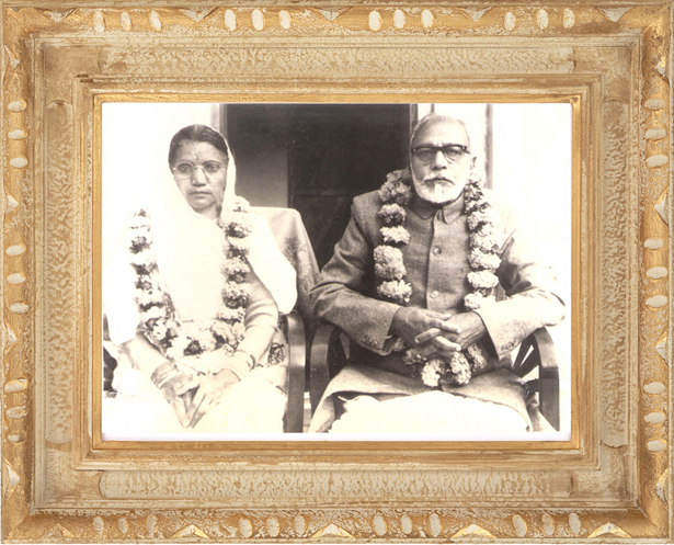Jeeya Maa and Maharaj Jee